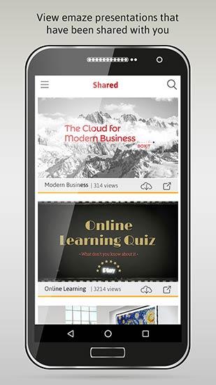emaze app